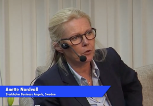 Anette Nordvall talar